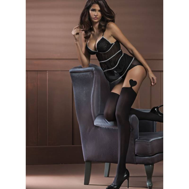 Ciorapi dama adezivi Erotica 20