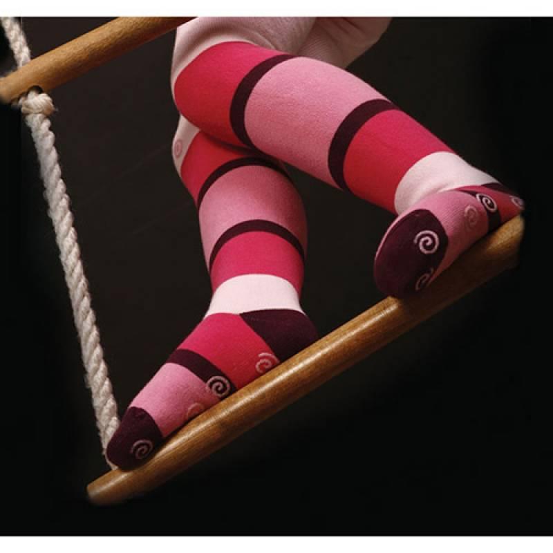 Ciorapi pantaloni flausati fetite cu ABS