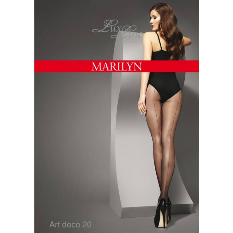 Ciorapi Marilyn Art Deco 20 den