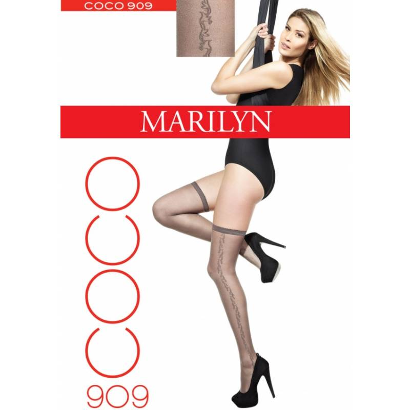 Ciorapi adezivi Marilyn Coco 909