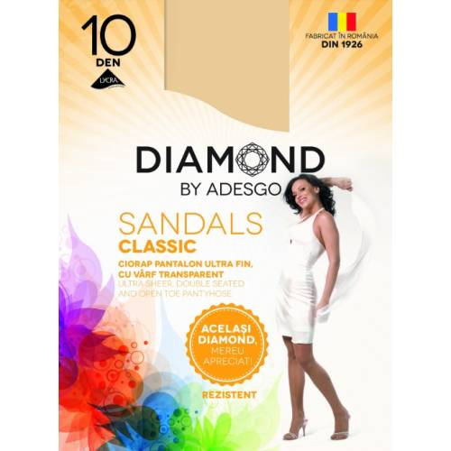 Ciorapi Diamond Sandals 10