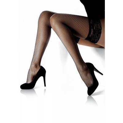 Ciorapi plasa cu banda Marilyn Amore