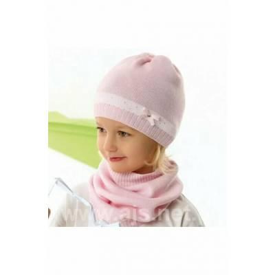 Caciulita roz de fetite AJS 42-087