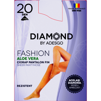 Ciorapi subtiri Diamond Fashion Aloe Vera