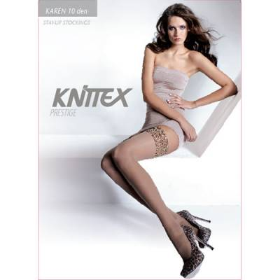 Ciorapi dama cu banda silicon Karen 10 den