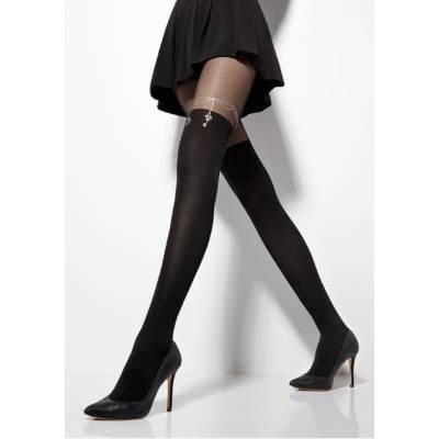 Ciorapi cu model Zazu Chain 20/60 den