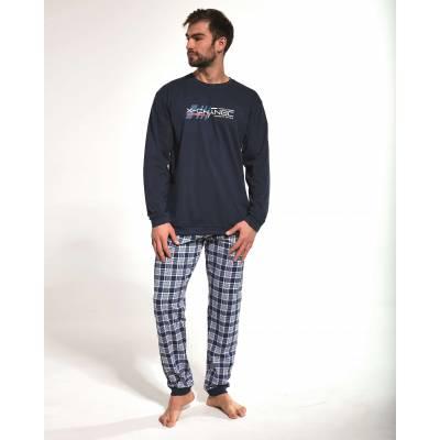 Pijama de barbati in carouri Cornette 115-157