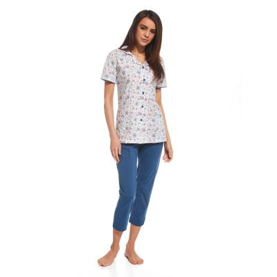 Pijama cu nasturi 696-108 Cornette