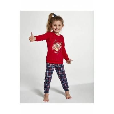 Pijama Craciun varsta 1-14 ani Cornette 592-130